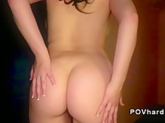 mature ass cumshot