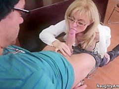 mature pussy blonde