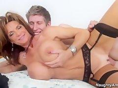 stocking amateur mature