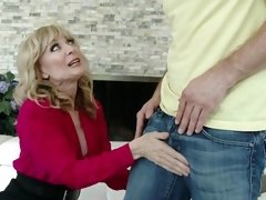 horny blonde mature