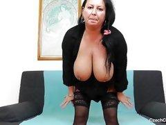 mature stockings amateur